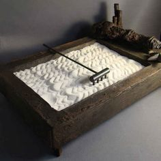 Maybe it's time for you to get one of these zen gardens. | 26 Zen Gardens To Help You Find Inner Peace At Work