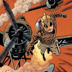 Power Item of the Day - The Rocketeer's outfit powered by a love of cliffhangers and two-fisted action.
