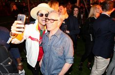 Gotcha! DJ Cassidy managed to grab a cheeky selfie with man of the moment Tommy Hilfiger...