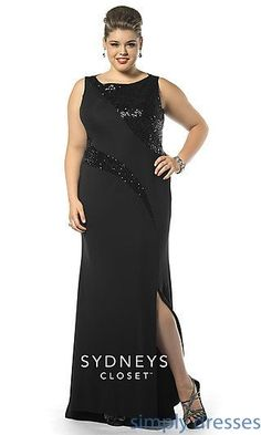 Awesome Prom Dresses High Neck Plus Size Prom Dress by Sydneys Closet