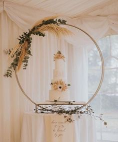 Excited to share this item from my shop: Table top double hoop with detachable base. Diy Wedding Cake, Amazing Wedding Cakes, Luxe Wedding, Glamorous Wedding, Wedding Desserts, Autumn Wedding, Wedding Trends, Wedding Ideas, Wedding Decor