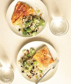 Spiced Cod With Broc