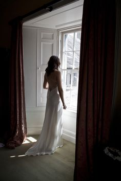 Ciara looking gorgeous in her Mira Mandic Wedding dress | Durhamstown Castle | Bronte Photography