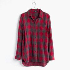 Madewell - ex-boyfriend shirt in lansing plaid