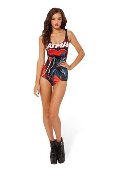 If this isn't the cutest Batman swimsuit ($93), we don't know what is.