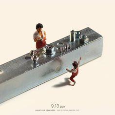 Nouvelles Miniatures quotidiennes de Tatsuya Tanaka (4)