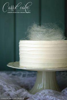 Recipe: Carrot Cake with Spun Sugar Nest | Half Baked - The Cake Blog