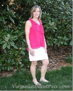 April Stitch Fix - Virginia Sweet Pea --- like this pink top