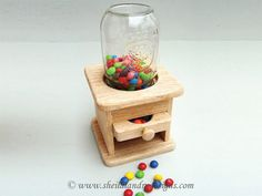 SLD242 - Classic Candy Dispenser Pattern Packet
