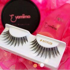 Our thin band & super comfortable #falseeyelashes available online at http://www.shopeyemimo.com/ntr28-eyemimo-brand-false-eyelashes
