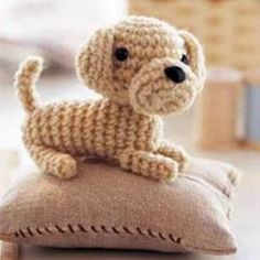 Amigurumi patterns for dogs and more