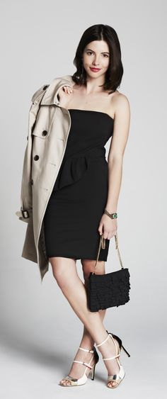 our editorial assistant @Kathryn Collings shows 3 fresh ways to wear the trench coat