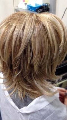 32 Layered Bob Hairstyles : Add These Hot Layers to Your Haircut Now - Style My Hairs Medium Shag Haircuts, Short Hairstyles For Thick Hair, Short Hair With Layers, Bob Hairstyles, Shoulder Length Hair Cuts With Layers, Medium Hair Cuts, Short Hair Cuts, Medium Hair Styles, Curly Hair Styles