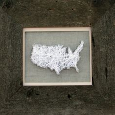 A tutorial showing an easy way to make string art by using straight pins instead of nails.