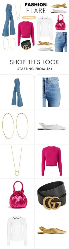 Fashion Flare by istyled on Polyvore featuring Helmut Lang, Hobbs, RE/DONE, Sigerson Morrison, Staud, Magda Butrym, Jennifer Zeuner and Gucci