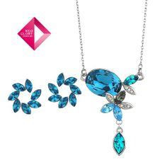 Aliexpress.com : Buy Neoglory Jewelry sets fashion jewelry with Swarovski element crystal necklace earring women anniversary new arrive 2012 from Reliable jewelry set suppliers on NEOGLORY JEWELRY