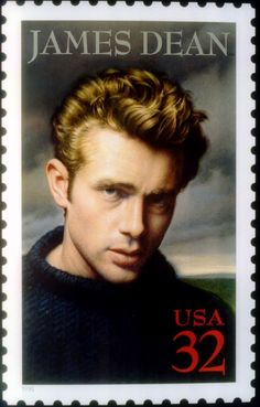 James Dean Hollywood U.S. Postage stamp