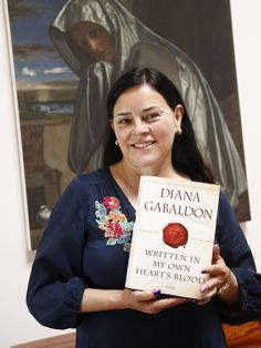 "Diana Gabaldon: ""I think the Outlander books will end in about 1800 in Scotland. If this tells you anything, more power to you. The last book will have a happy ending, although I confidently expect it to leave the readers in floods of tears anyway. Outlander Novel, Diana Gabaldon Outlander Series, Outlander Book Series, Starz Series, Book Art, Star Wars, Book Authors, Book Worms, Historical Romance"
