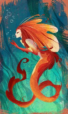 """Hello I'm Fira. I'm quiet the evil little mermaid. I plan on stealing my sister,silvers, thrown! She doesn't deserve it! She's to nice. I lead the mermaid to take over the above world as well as down here! All I have to do it kill silver so that I become the air to the trown. After I become queen of the ocean, I'll take over the above world. Oh, and don't forget, I jaut ABSOLUTLY despise my sister. She has no right to rule, she'll only give them peace and rule the ocean with """"kindness""""…"""