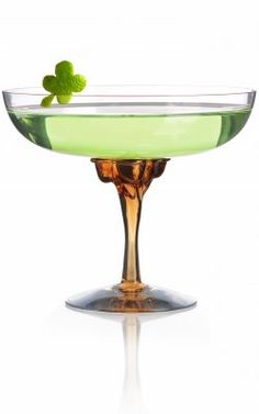 Four Leaf Clover  Ingredients:  3 oz Purity Vodka  1 oz water  .5 oz green chartreuse  Instructions:Add all ingredients to a mixing glass and stir until ice cold. Strain into a chilled martini glass, garnish with a lime zest stamped into the shape of a shamrock.