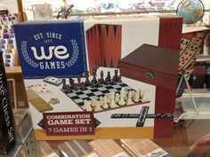 We carry combination game sets