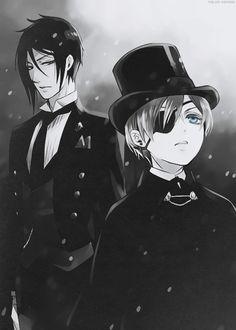 Ciel Phantomhive   Sebastian Michaelis   Black Butler   Kuroshitsuji   ♤ Anime ♤
