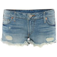 True Religion Cut-off joey shorts ($205) ❤ liked on Polyvore featuring shorts, denim mid wash, women, true religion, true religion shorts, cut-off shorts and cut off shorts