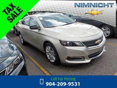 2015 Chevrolet Chevy Impala LS w/1FL Call for Price  miles 904-209-9531 Transmission: Automatic  #Chevrolet #Impala #used #cars #NimnichtChevrolet #Jacksonville #FL #tapcars