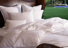 Complete your bed with All Finer Things bedding and linen. By Now online:- http://allfinerthings.wozaonline.co.za/
