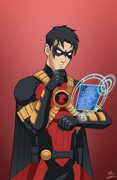 Tim Drake Red Robin, Robin Dc, Batman Robin, Gotham Batman, Batman Art, Superhero Characters, Dc Comics Characters, Dc Comics Art, Hq Marvel