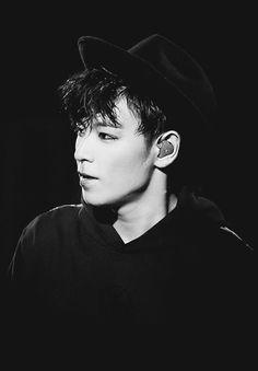He is so stunning in B&W