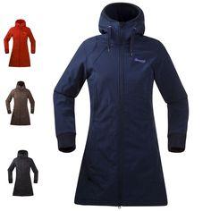 Bergans Vika Lady Coat - Damen Softshell Mantel | eBay