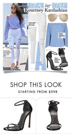 """Steal Her Style- Kourtney Kardashian"" by kusja ❤ liked on Polyvore featuring Stuart Weitzman, Stealherstyle, celebstyle and kourtneykardashian"