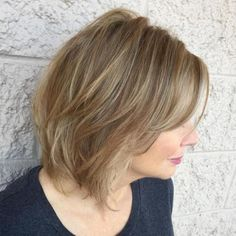 50 Medium Layered Haircut