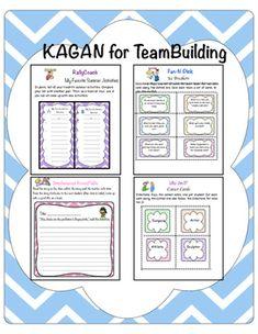 Kagan Team Building Activities Pdf