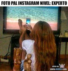 Foto pal instagram - Nivel: Experto