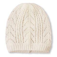 Open-Knit Beanie