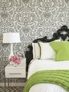 modern baroque Bedroom. More lusciousness at http://mylusciouslife.com/luscious-bedrooms/