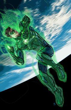 Green Lantern (Hal Jordan) by timothylaskey