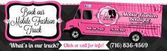 Mobile Fashion Truck filled with everything girly including tutu's, boutique clothing, hats, haedbadns, bows, accessories, and we even have a few things for mom! If you live in the Buffalo area we are now booking home parties and events! www.thetutuboutik.com
