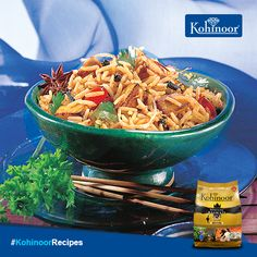 Two North Indian favourites rolled into one, this #PaneerTikkaBiryani is even more delicious than it sounds!  #Recipe: http://www.kohinoorindia.co.in/recipes/paneer-tikka-biryani.html