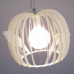 2012 hot sell Lighting lamps peca birdbrains bird nest pendant light child modern rustic tieyi brief  free shipping $251.18