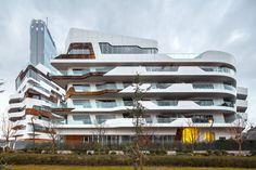 CityLifeMilano (aka CityLife Apartments)   Architect: Zaha Hadid Architects   Location: Milan, Italy   Photograph: Simón Garcia
