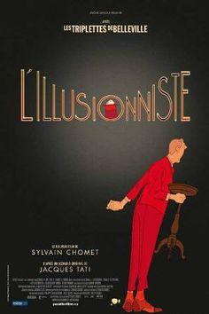L'illusioniste (2010) di Sylvain Chomet (Les Triplettes de Belleville). Tributo a monsieur Jack Tati...un autre beau film Chomet.