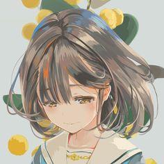 Kawaii Anime Girl, Kawaii Art, Anime Art Girl, Manga Girl, Anime Girls, Sad Anime Girl, Anime Lemon, Image Manga, Cute Anime Pics