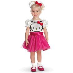Déguisement Hello Kitty Rose 1-2 ans