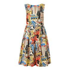 Emily and Fin | Emily and Fin Dresses | Ruby Dress in Painted City Circus
