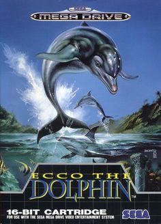 Ecco The Dolphin - Megadrive - Sega - 1992