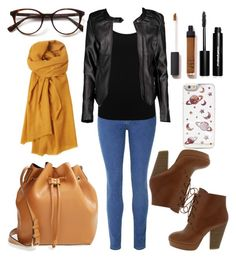 """""""boots"""" by laurindomari on Polyvore featuring Glamorous, M&Co, Sole Society, Boohoo, Toast, NARS Cosmetics, Bobbi Brown Cosmetics, women's clothing, women's fashion and women"""