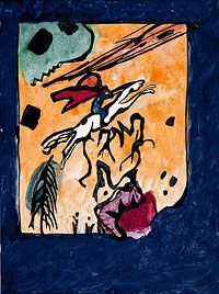 Vassily Kandinsky Almanach der blaue reiter, 1911.